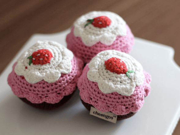 Strawberry Shortcake Rattle