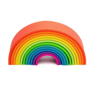Large Neon Eco Silicone Rainbow