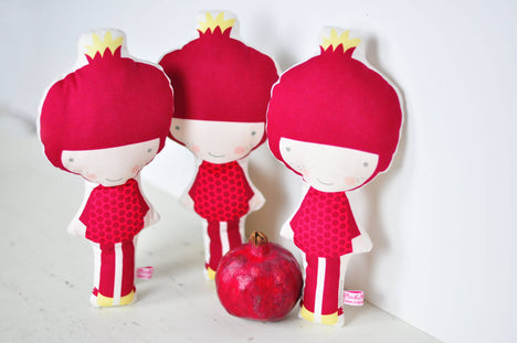 Pomegranate Doll