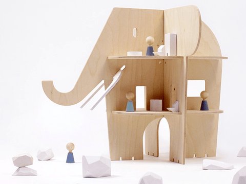 Elephant Villa Dollhouse