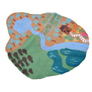 Papoose Farm Felt Play Map