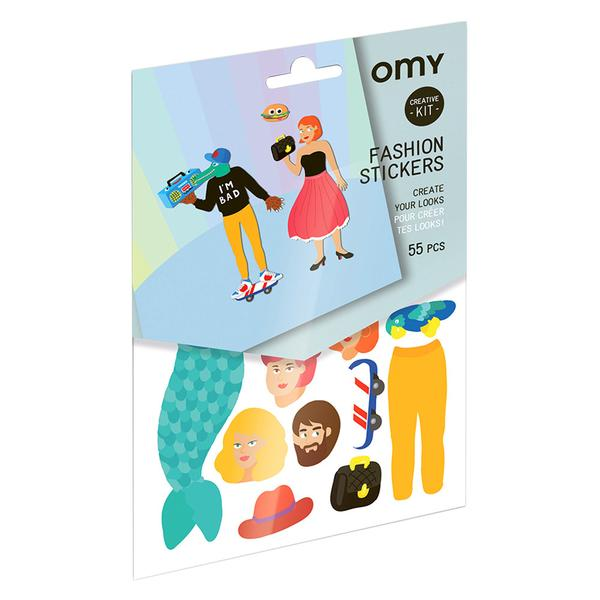 Omy Reusable Fashion Stickers