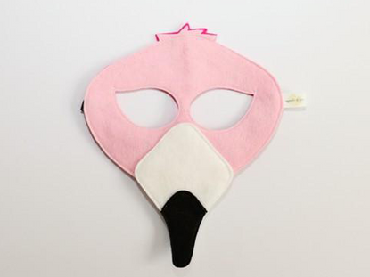 Opposite of Far Flamingo Mask