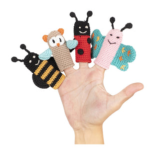 Cuddoll The Flutterers Finger Puppets