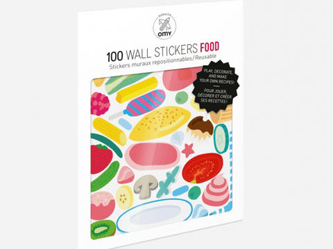 Food Removable Stickers
