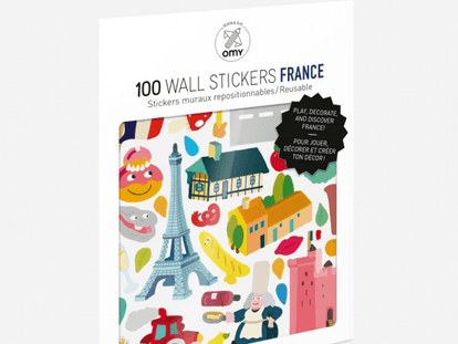 France Removable Stickers