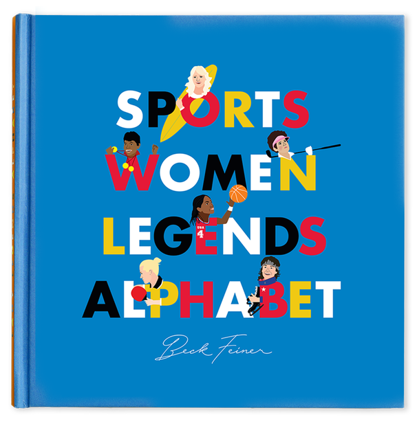 Sports Women Legends Alphabet Book