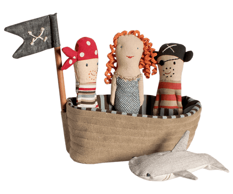 Pirate Ship Rattle Set