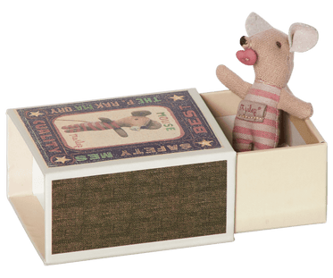 Baby Girl Mouse in Matchbox
