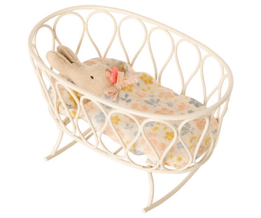 Micro Cradle with Sleeping Bag and Baby Bunny