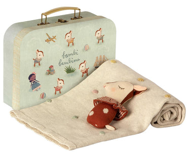 Maileg Baby Bambi Gift Set in Rusty