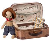 Little Cowboy Mouse in Suitcase