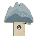 Custom Mountain Growth Chart from Tree By Kerri Lee