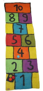 Hopscotch Felt Play Mat