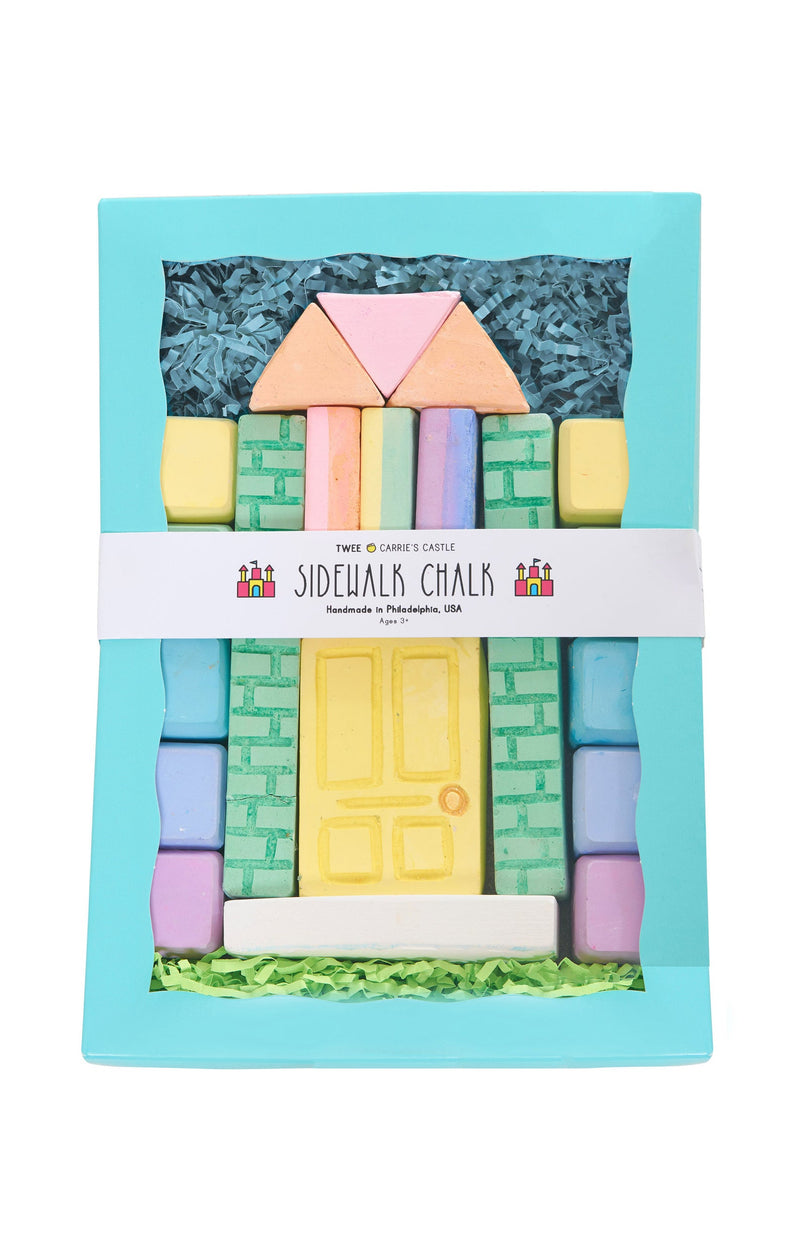 Twee Carrie's Castle Sidewalk Chalk Set