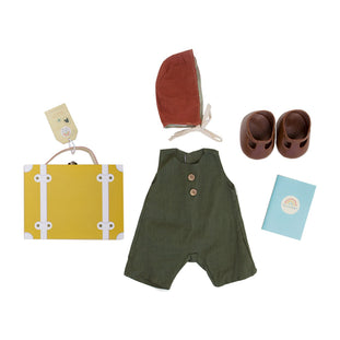 Dinkum Doll Travel Togs in Mustard