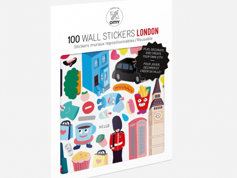London Removable Stickers