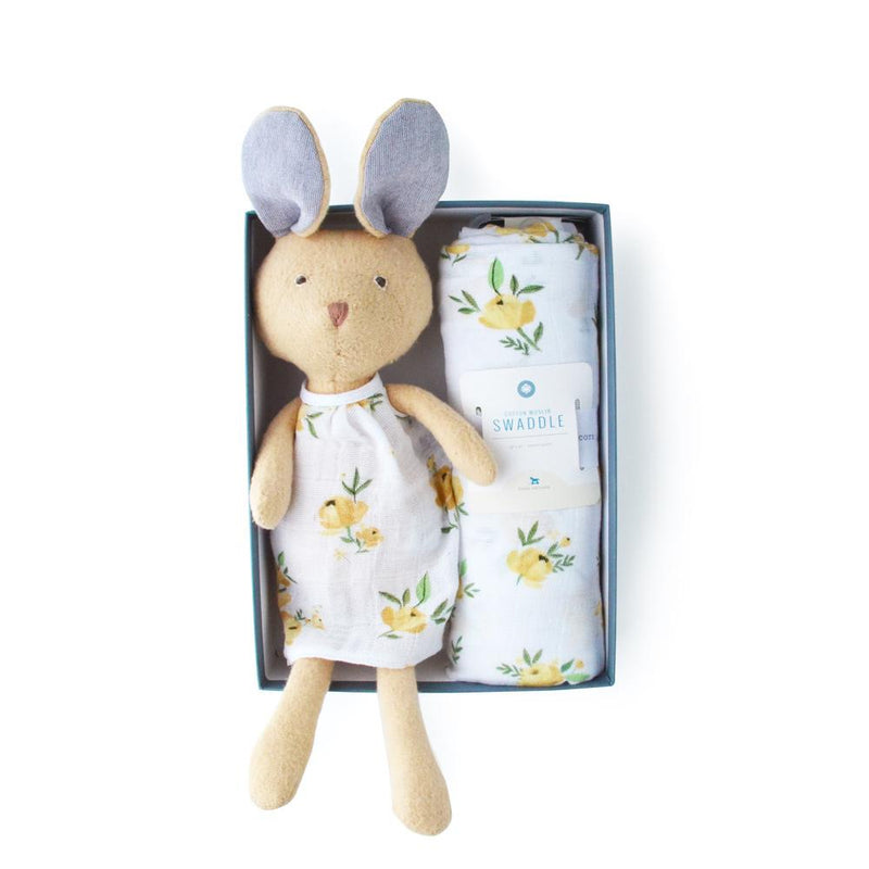 Hazel Village Juliette Rabbit x Little Unicorn Gift Bundle