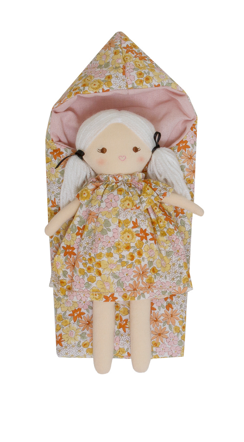 Mini Matilda in Marigold Sleeping Bag