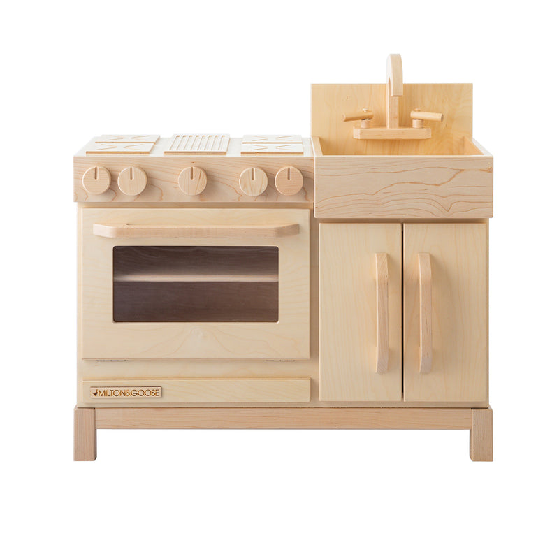 Milton & Goose Essential Play Kitchen in Natural Wood