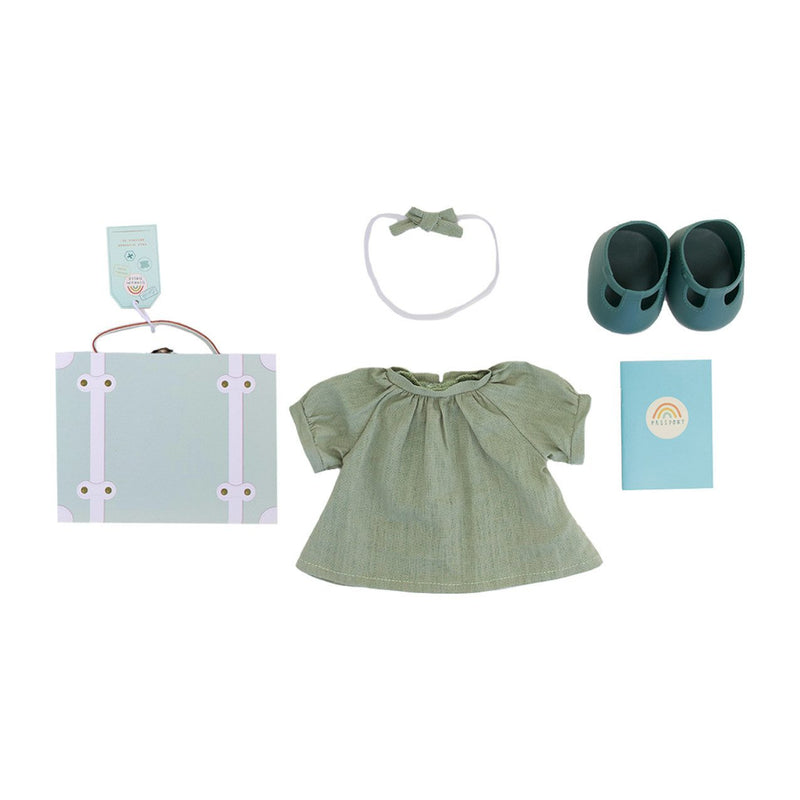 Dinkum Doll Travel Togs in Mint