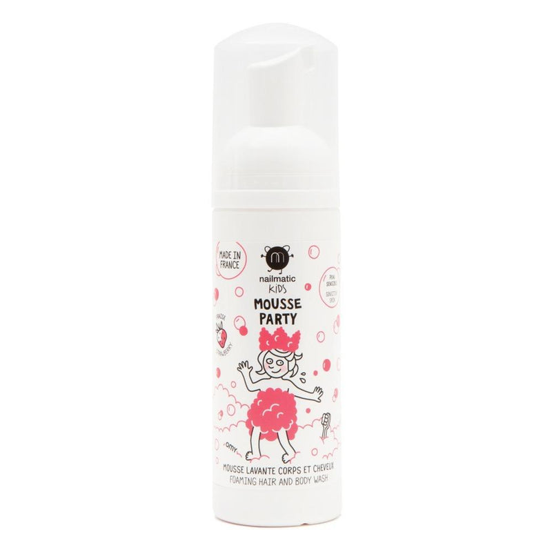 Nailmatic Strawberry Hair & Body Foam