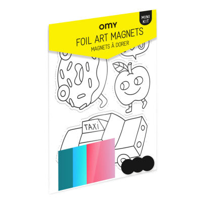 Omy New York City Foil Art Magnets