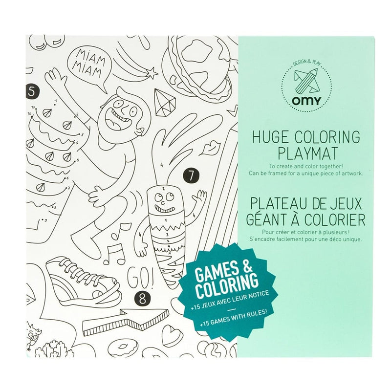 OMY Games Coloring Play Mat