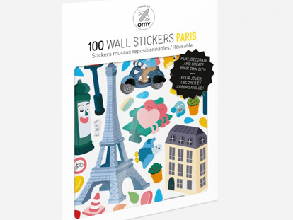 Paris Removable Stickers