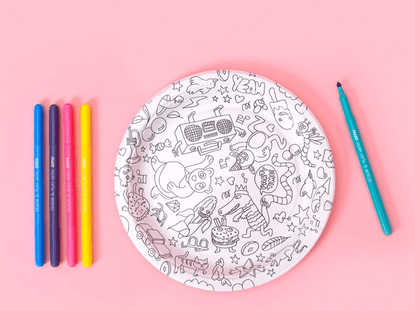Coloring Plates