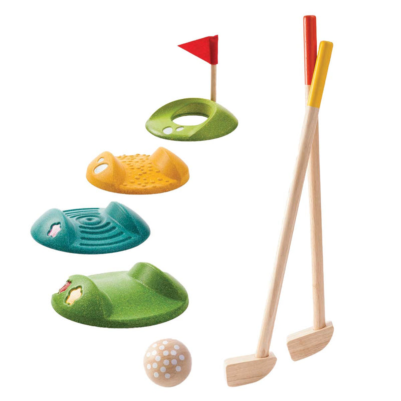 Plan Toys Full Mini Golf Set
