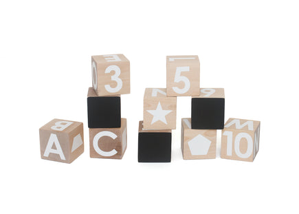 Modern Blocks Chalkboard Alphabet Blocks