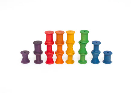 Grapat Colored Stacking Spools