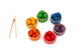 Grapat Bowls and Acorns Sorting Game