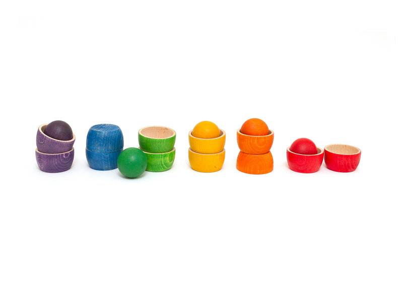 Grapat Bowls and Balls Matching Game