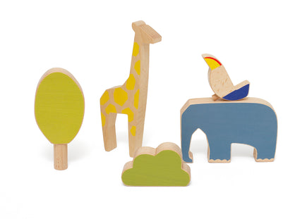 Wandering Workshop Wooden Animal Toy Set