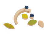 Wandering Workshop Leaves & Blueberries Stacking and Balance Toy