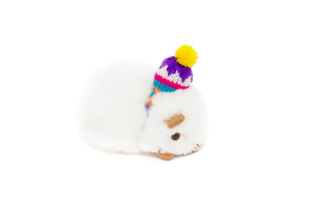 Stuffed Alpaca Guinea Pig in Andes Hat