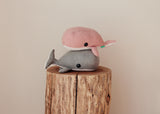 Maple and Cotton Whale Plush
