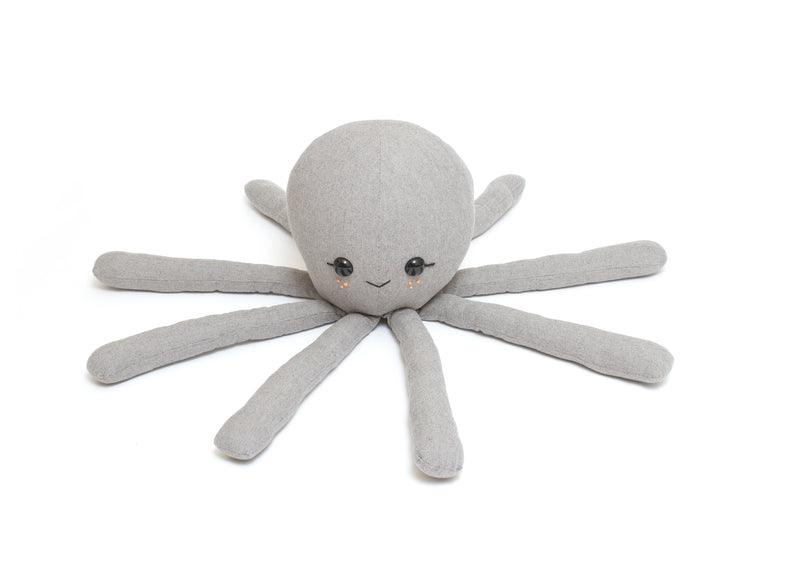 Maple and Cotton Jumbo Octopus Plush