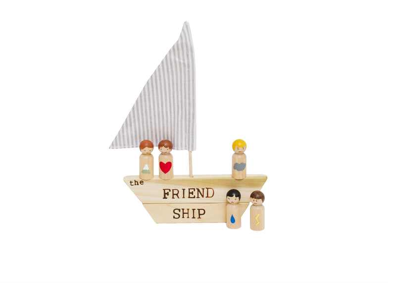 Hope Learning Toys 'The Friend Ship'