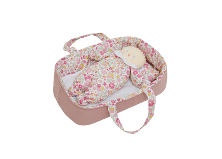 Alimrose Baby Doll Carrier Set in Rose Garden