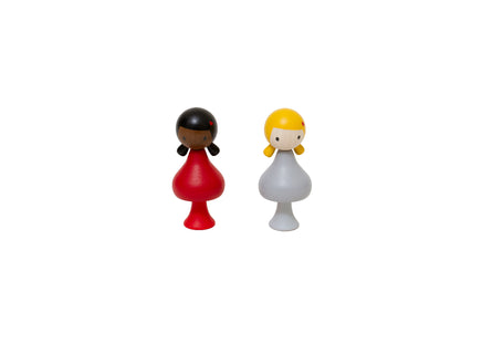 Clicques Heart Girls Peg Dolls