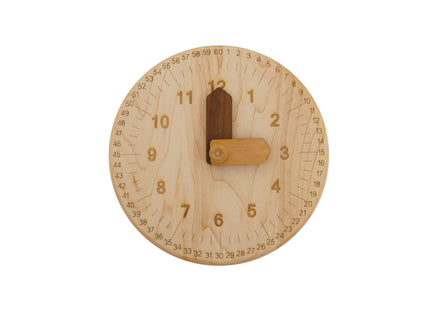 Mirus Toys Wooden Toy Clock