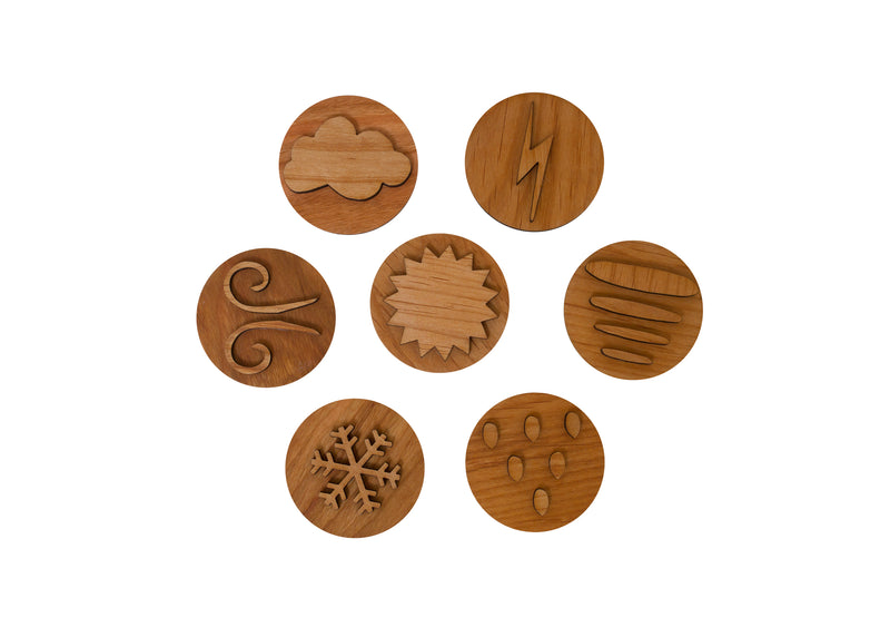 Mirus Toys Weather Play Dough Stampers