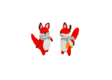 Papoose Felt Fox Set