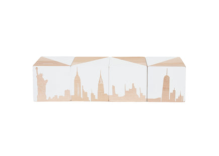 Modern Blocks New York Skyline Block Set