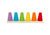 Teeny Weeny Toys Rainbow Stack & Sort