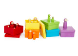 Rainbow Family Peg Doll Sorter