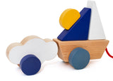 Wandering Workshop Boat & Cloud Pull Toy